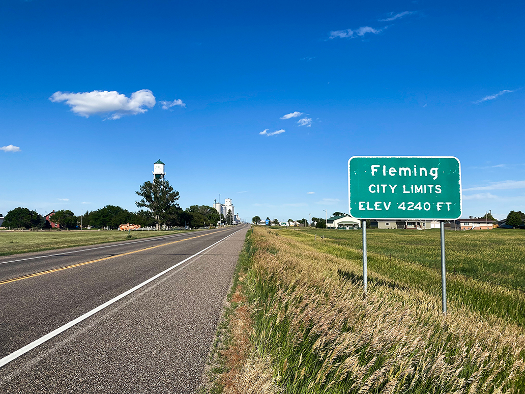 Town of Fleming Colorado