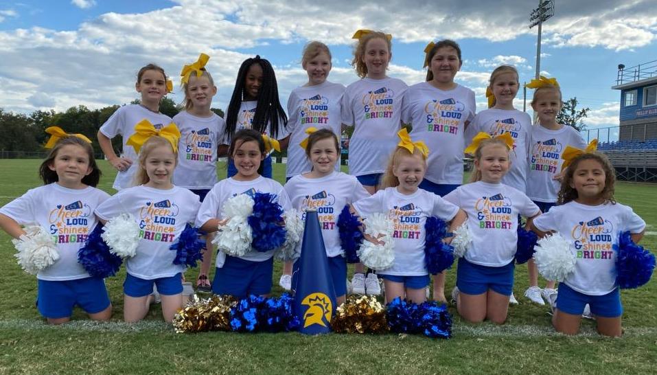 2020 Coosa Christian Elementary Cheerleaders