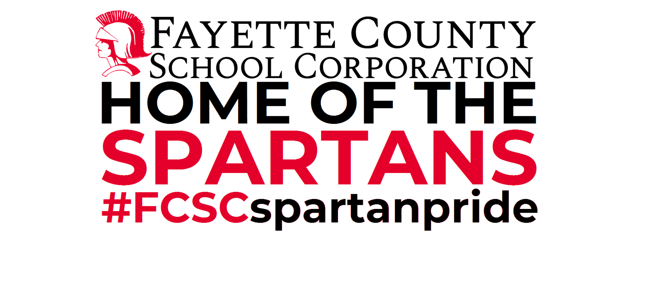 Fayette County School Corporation Home of the Spartans
