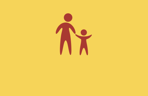 Student and parent icon