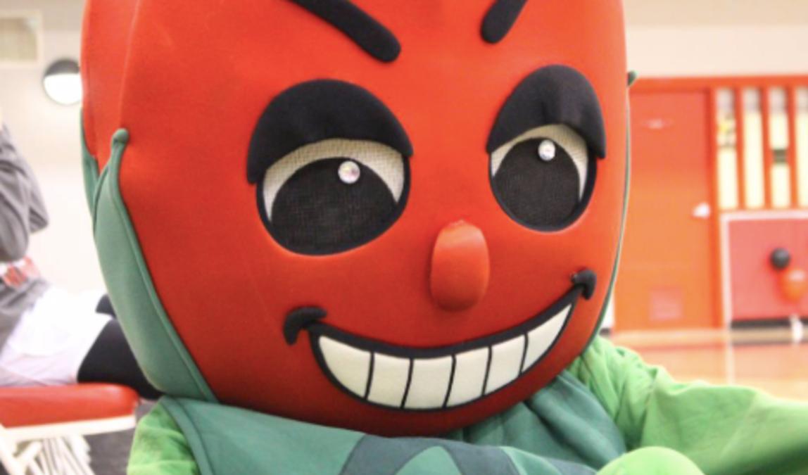 Rose Bud Mascot