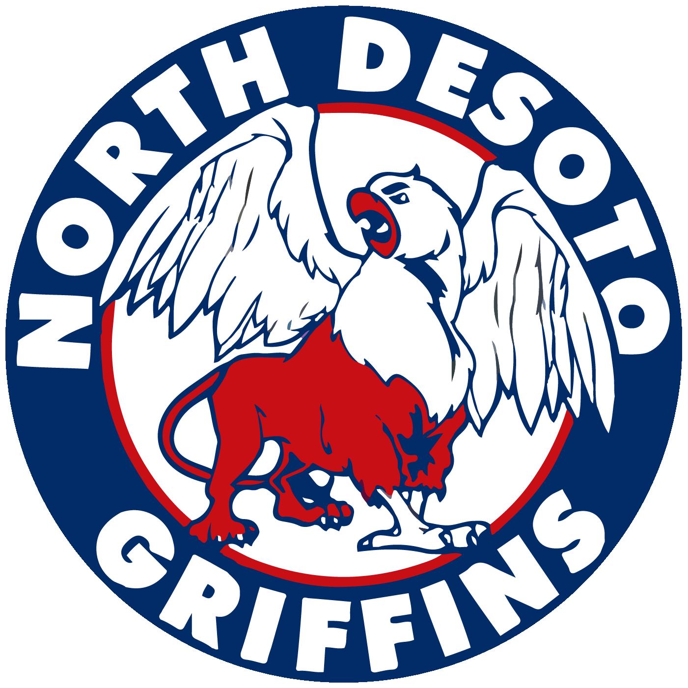 North DeSoto Griffins logo