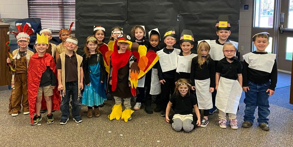 Happy Thanksgiving from SHS Kindergarten