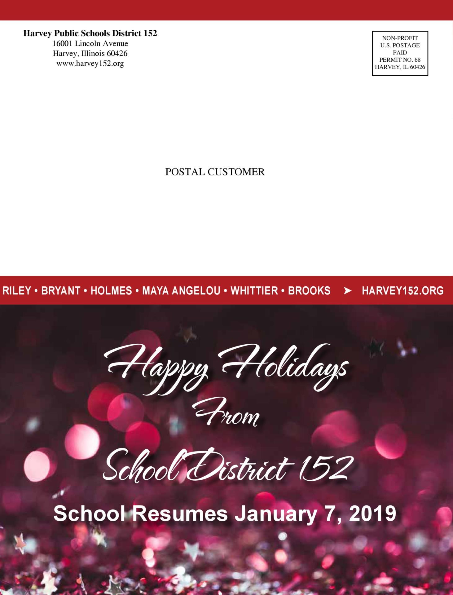 District Winter 2018 Newsletter