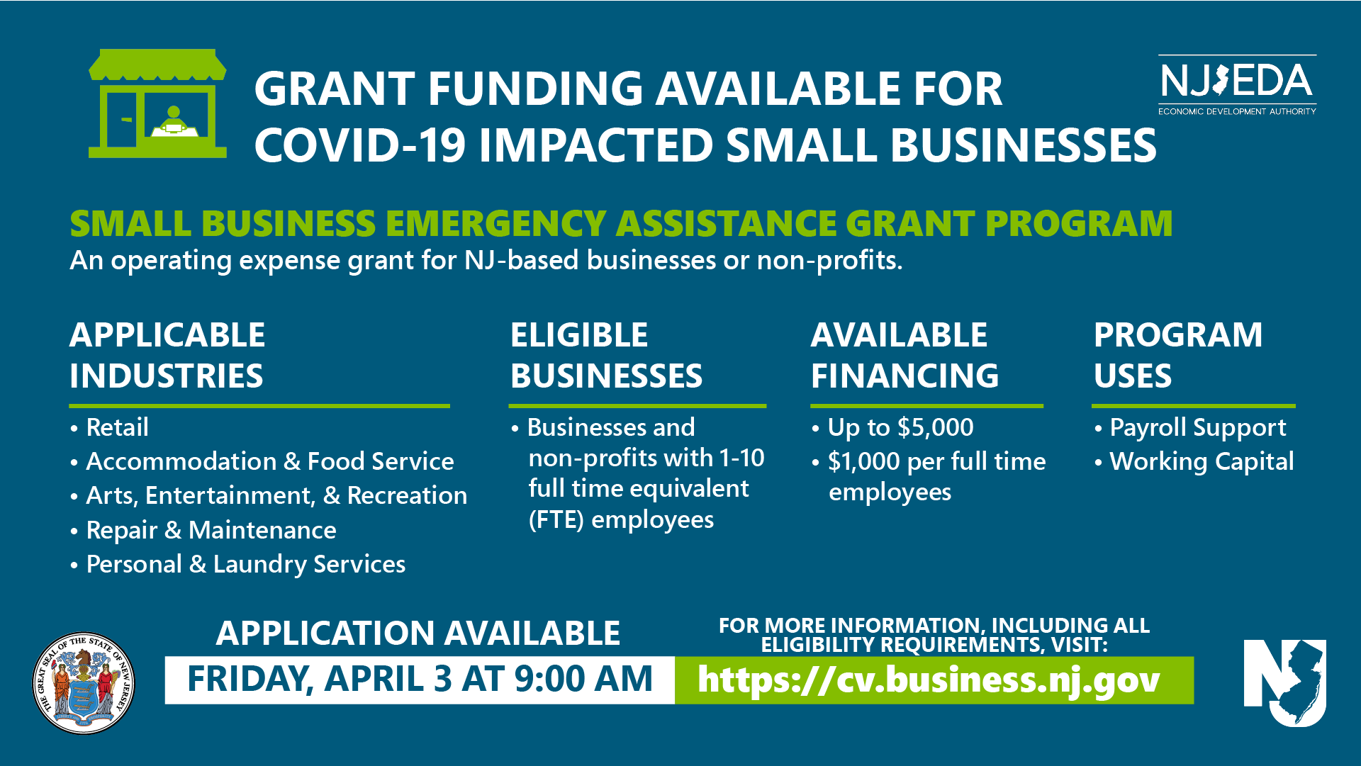 Small Business Emergency Grant Assistance Program