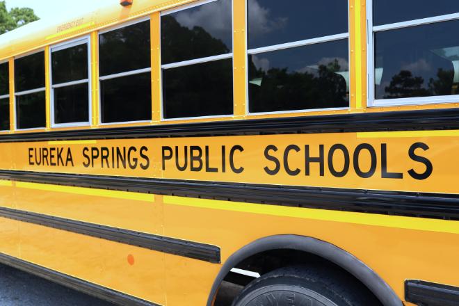 bus with eureka springs public schools