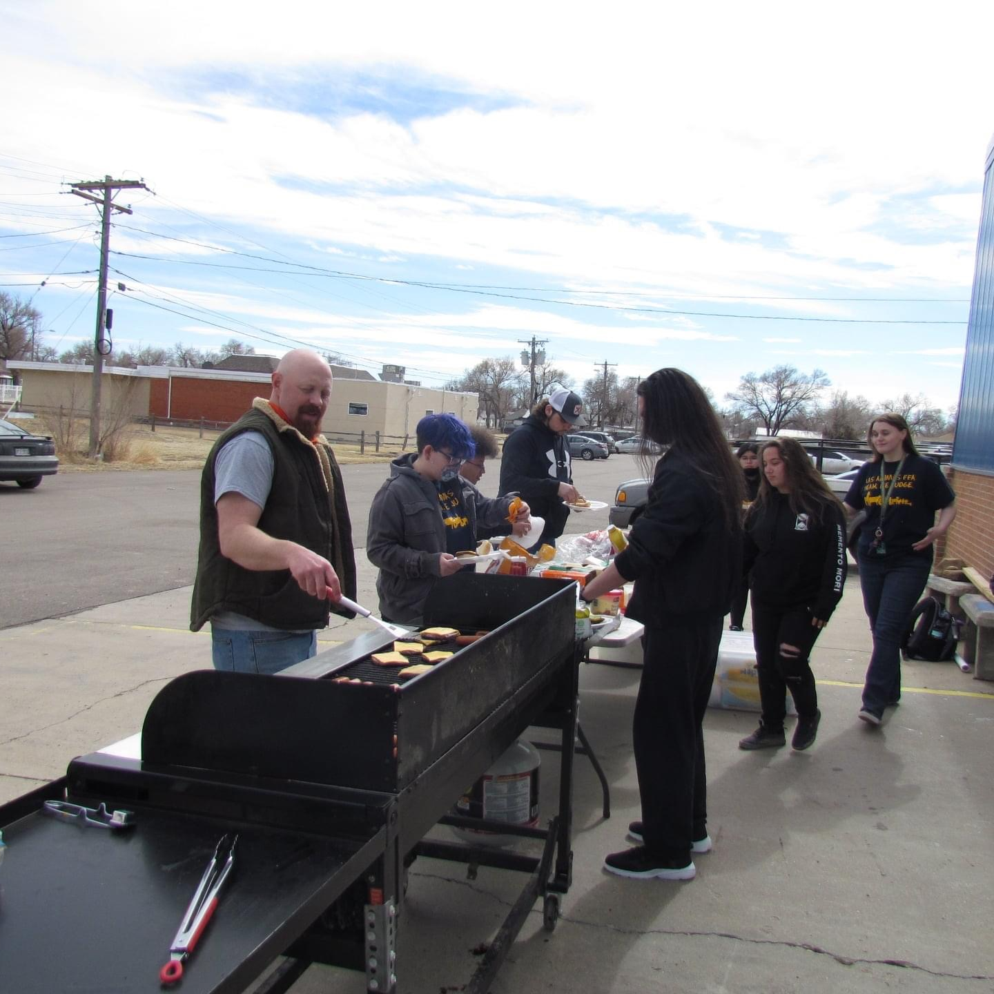 Celebrating FFA Week with a BBQ!