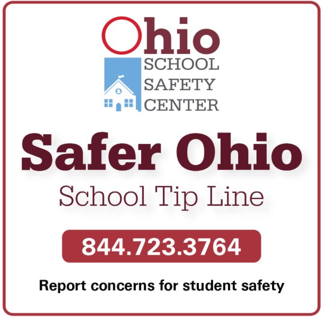 Image of safer Ohio Student Tip Line