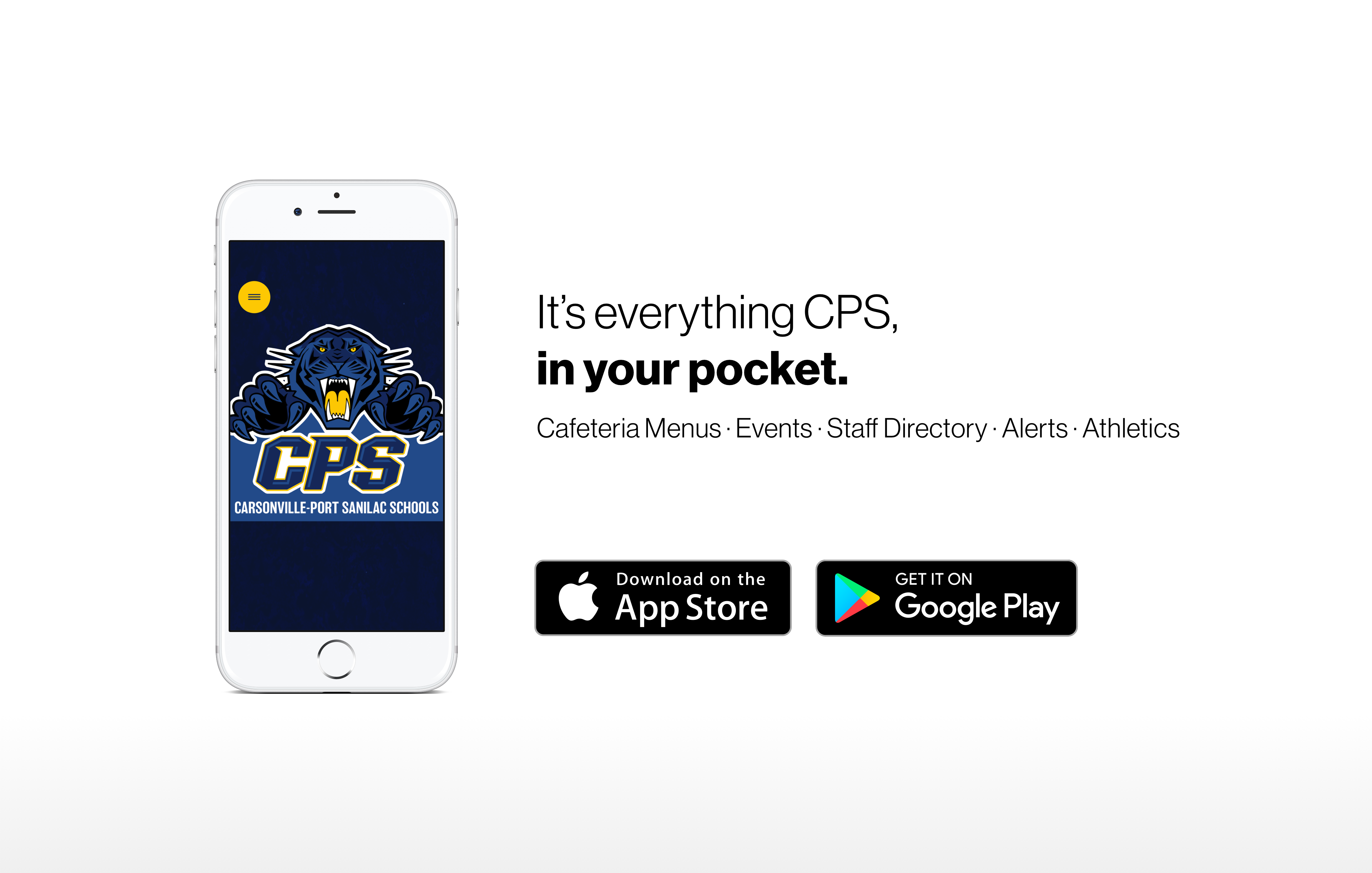 Download our new app on Apple and Android now!