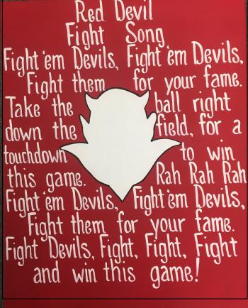 Atkins Fight Song Poster