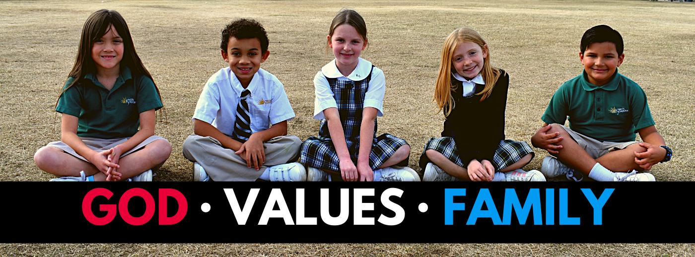 GOD VALUES FAMILY