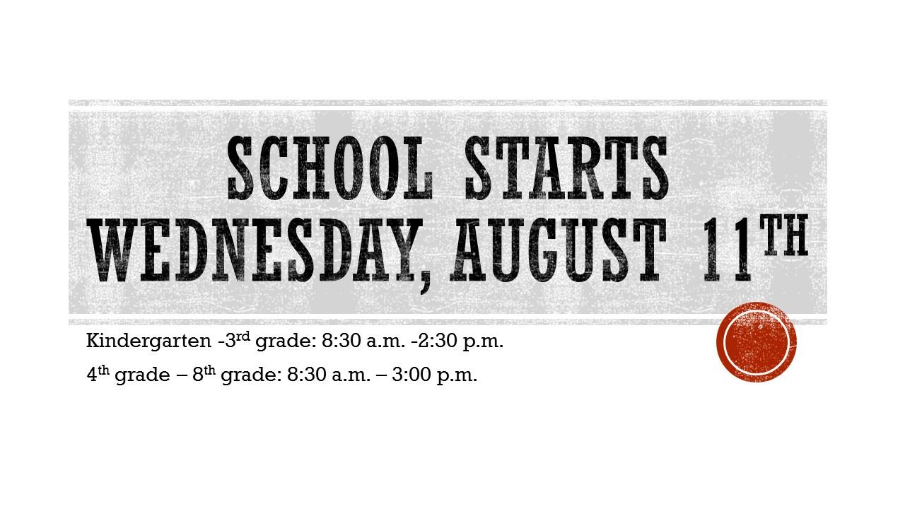 School Start