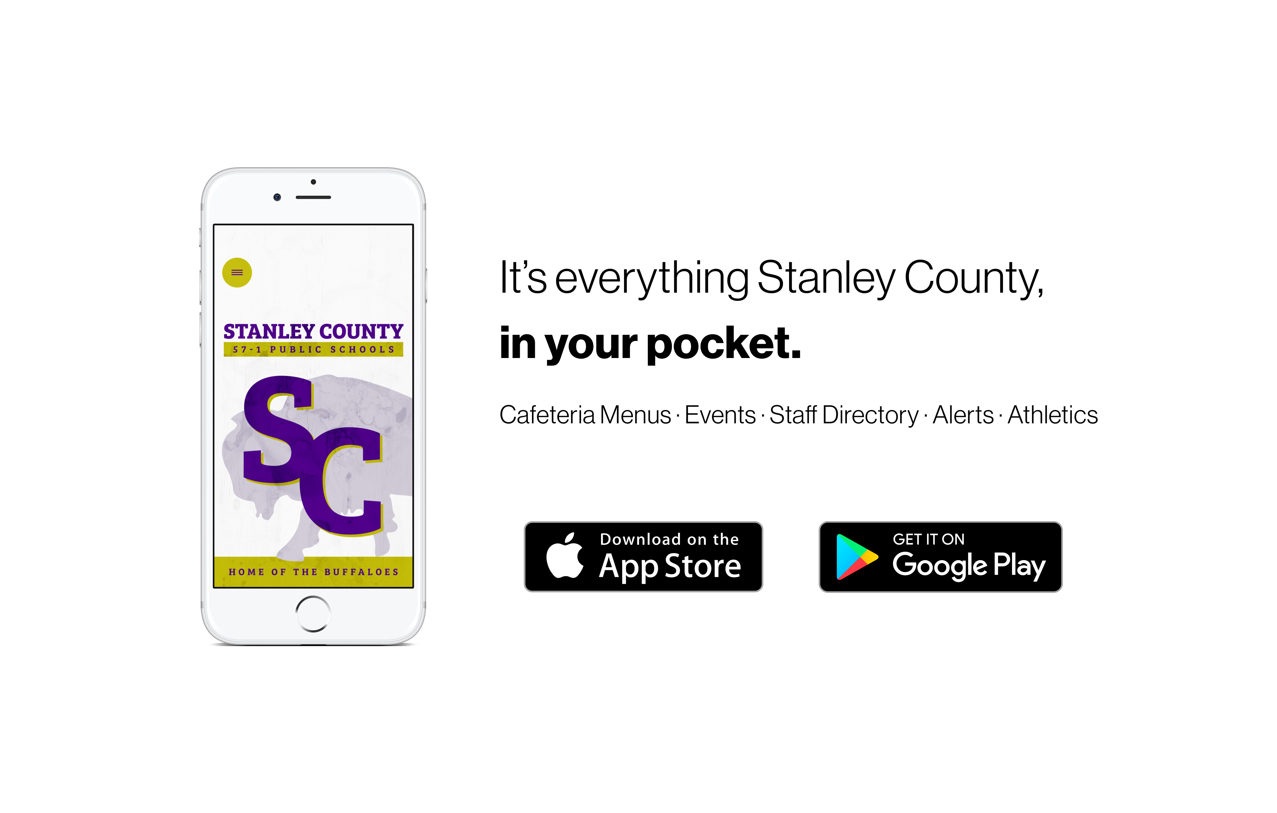 Banner for Stanley County App