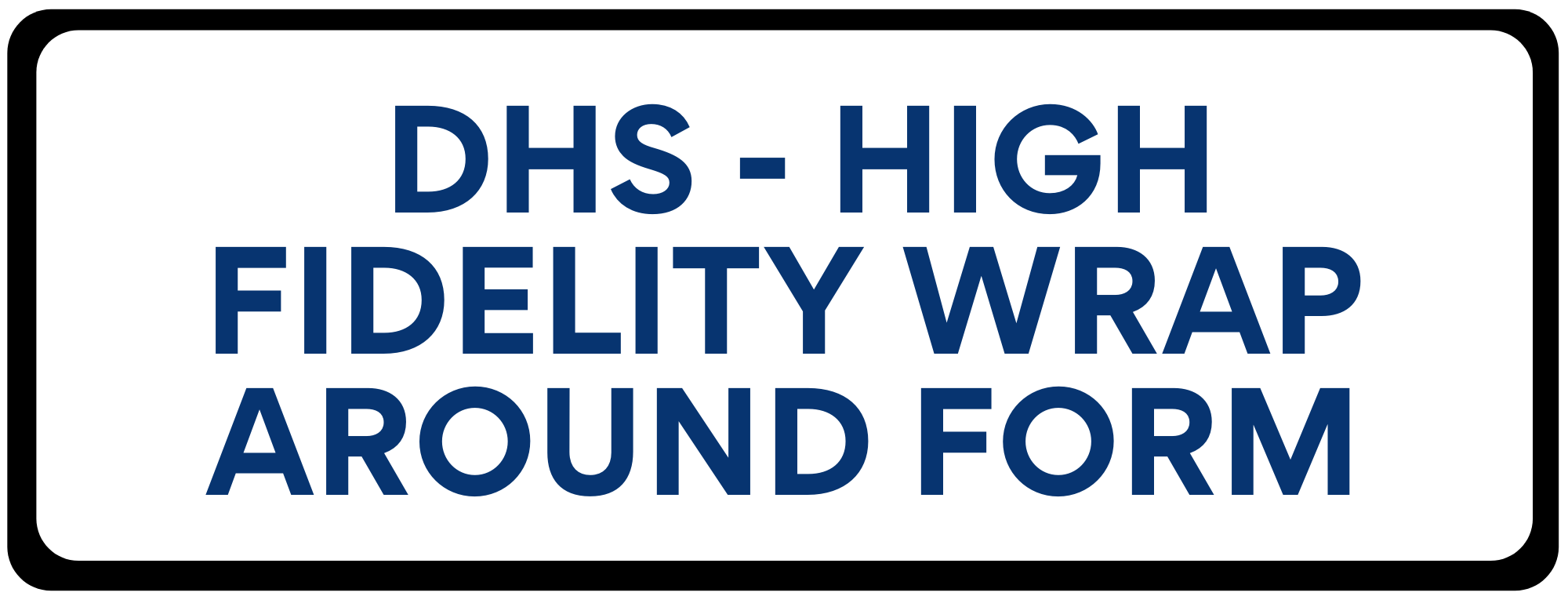 DHS Wrap around form