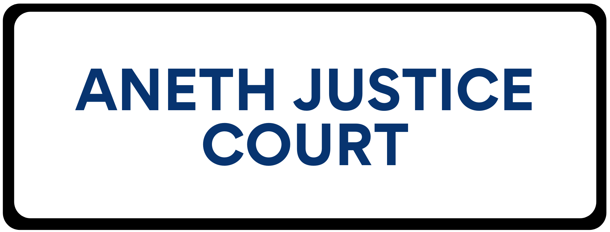 Aneth Justice Court