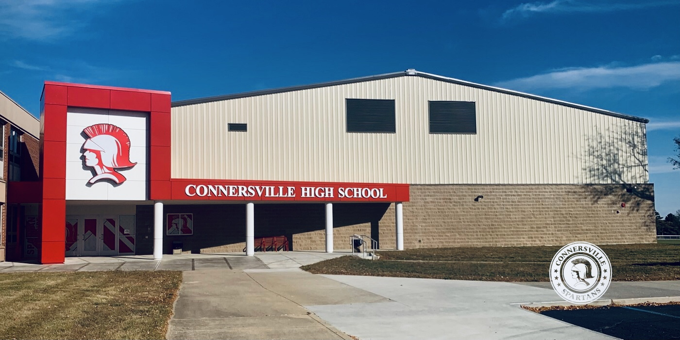 Connersville High School Entrance