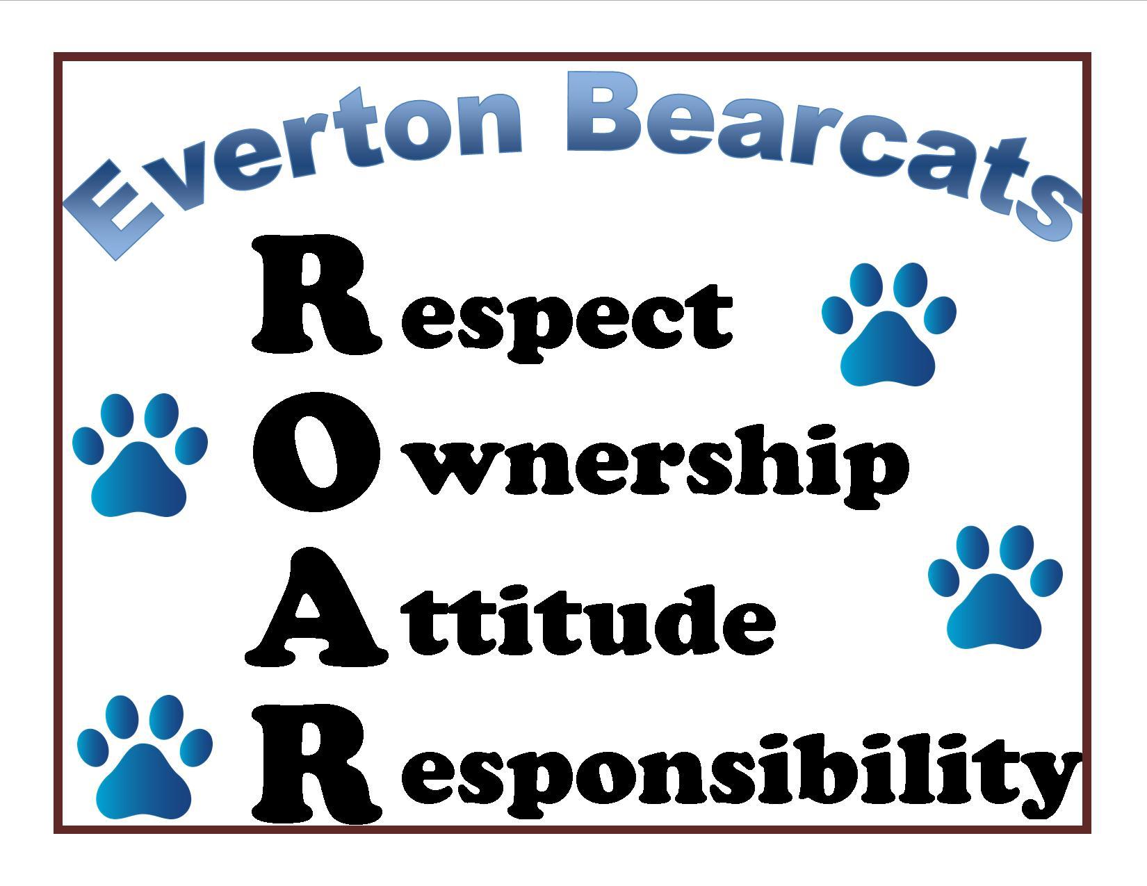 Everton Bearcats Respect Ownership Attitude Responsibility