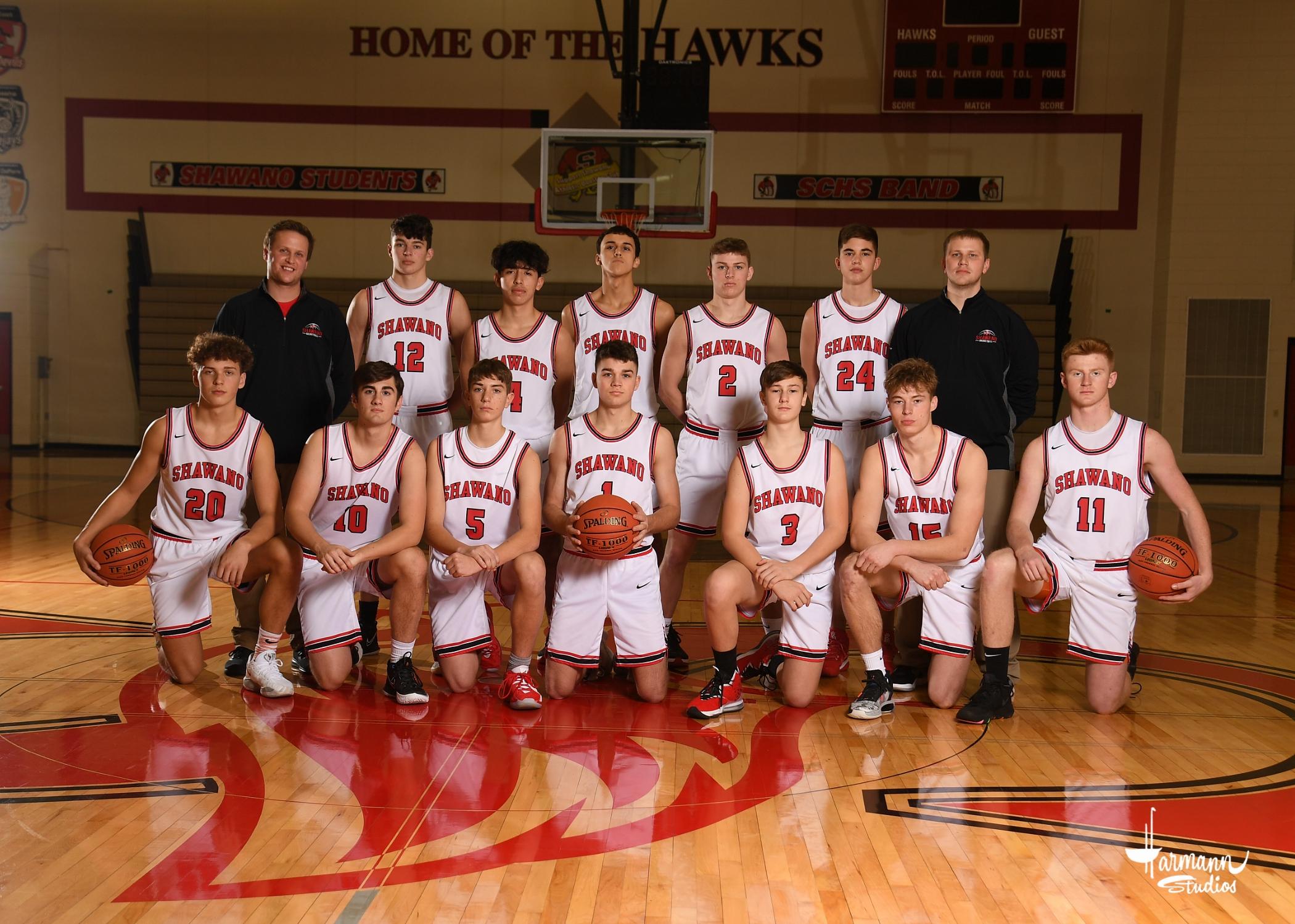 2020-21 Varsity Boys' Basketball Team