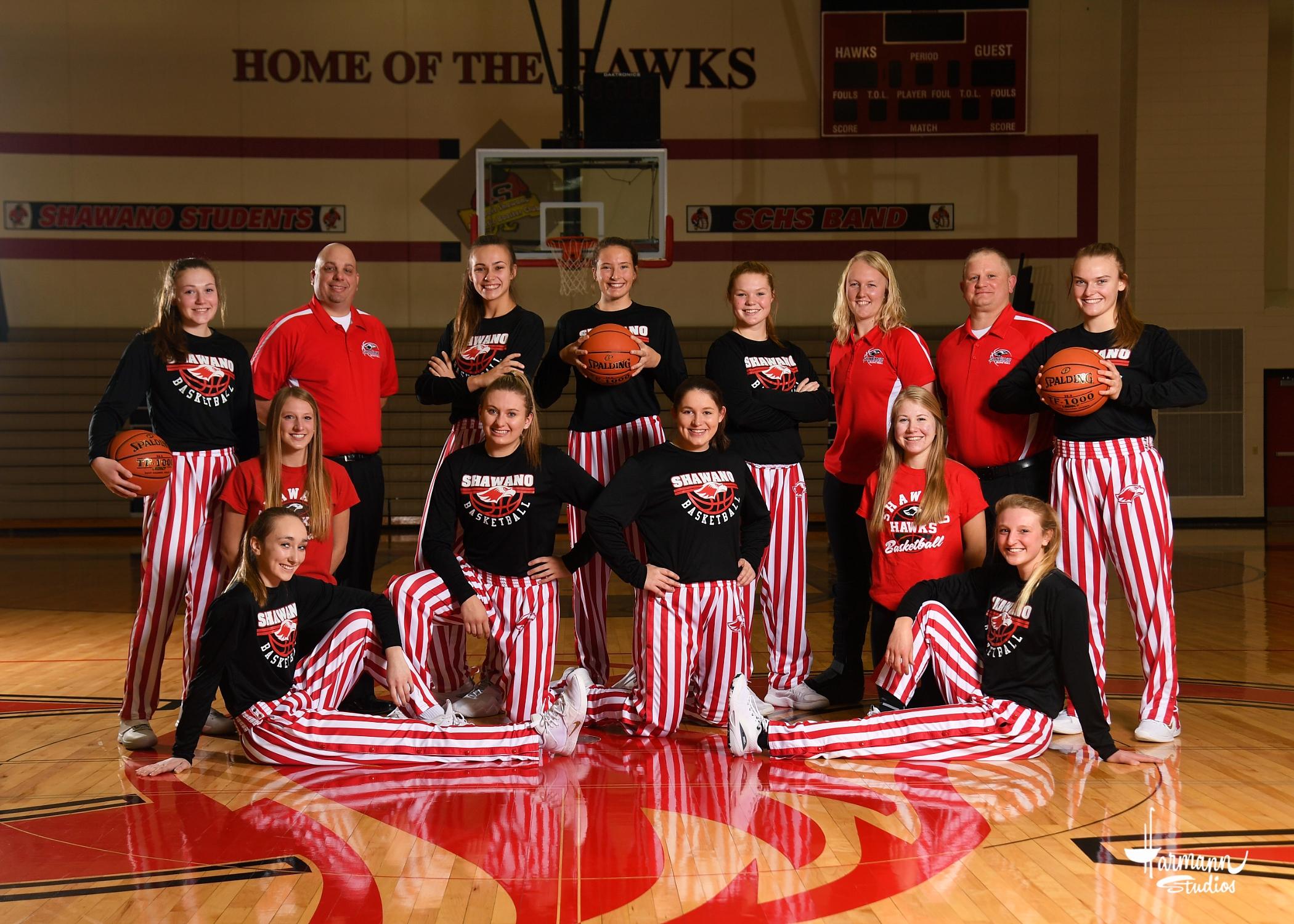 2020-21 Varsity Girls' Basketball Team