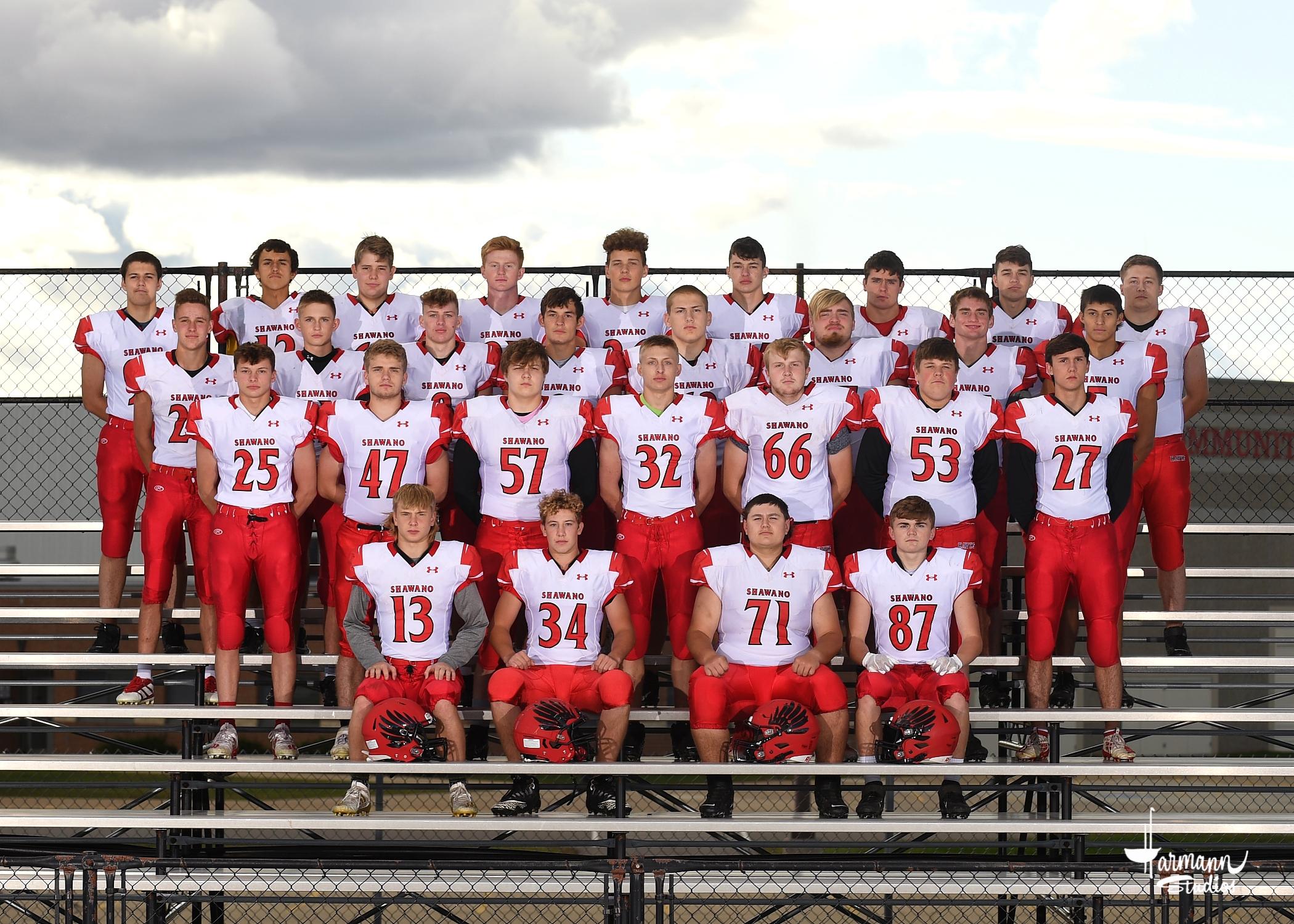2020 Varsity Football Team