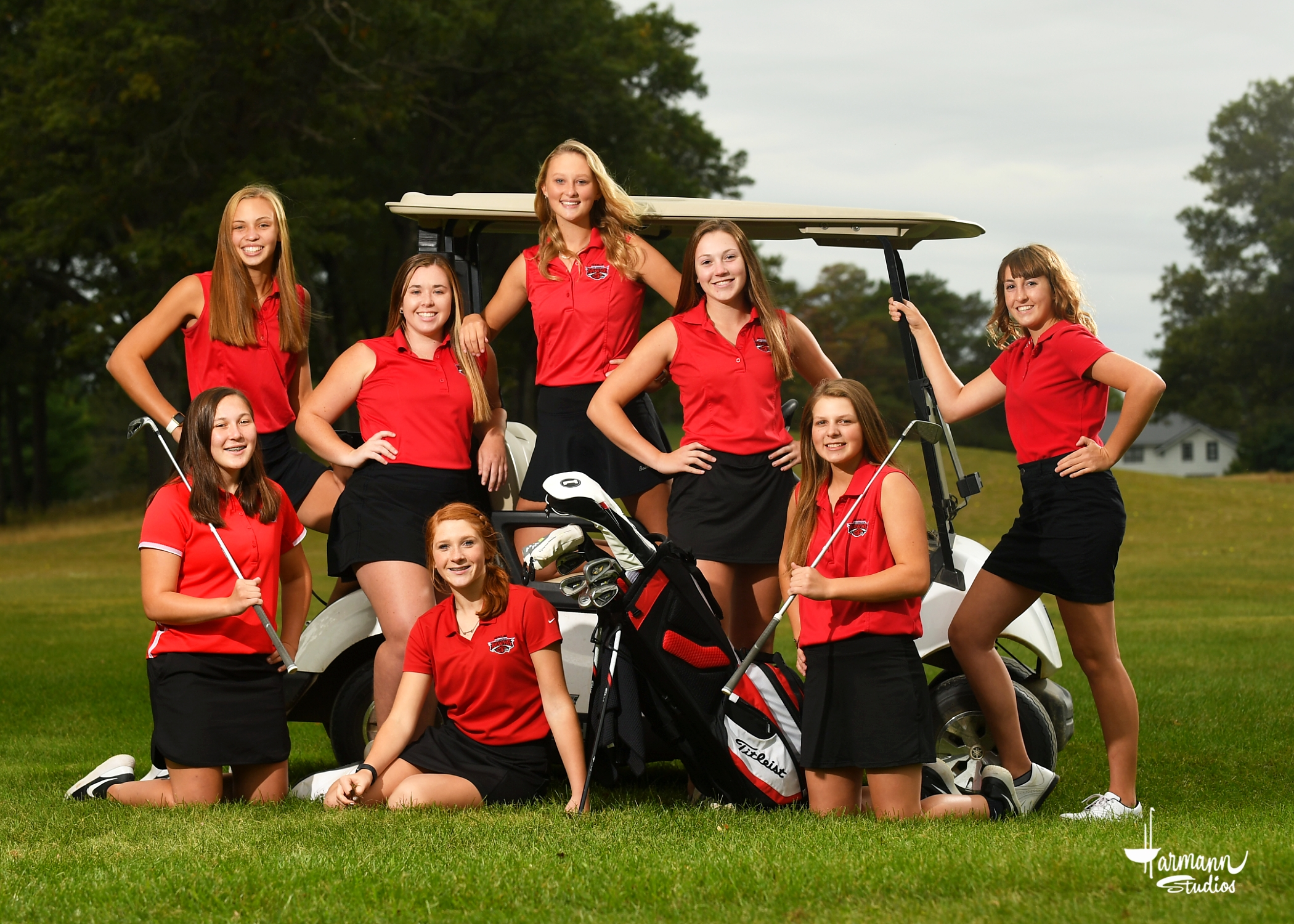2020 Girls' Golf Team