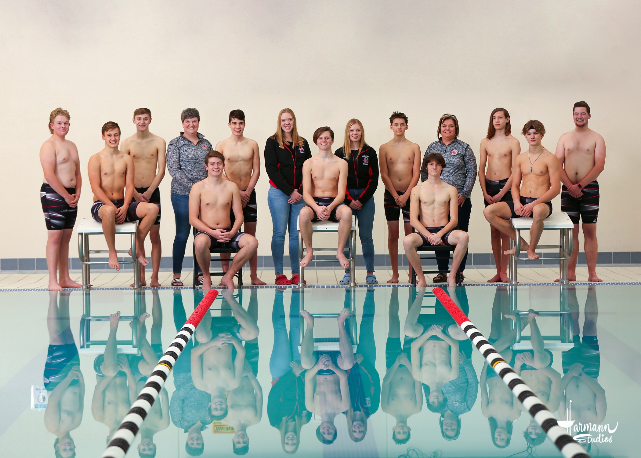 2020-21 Boys' Swim Team