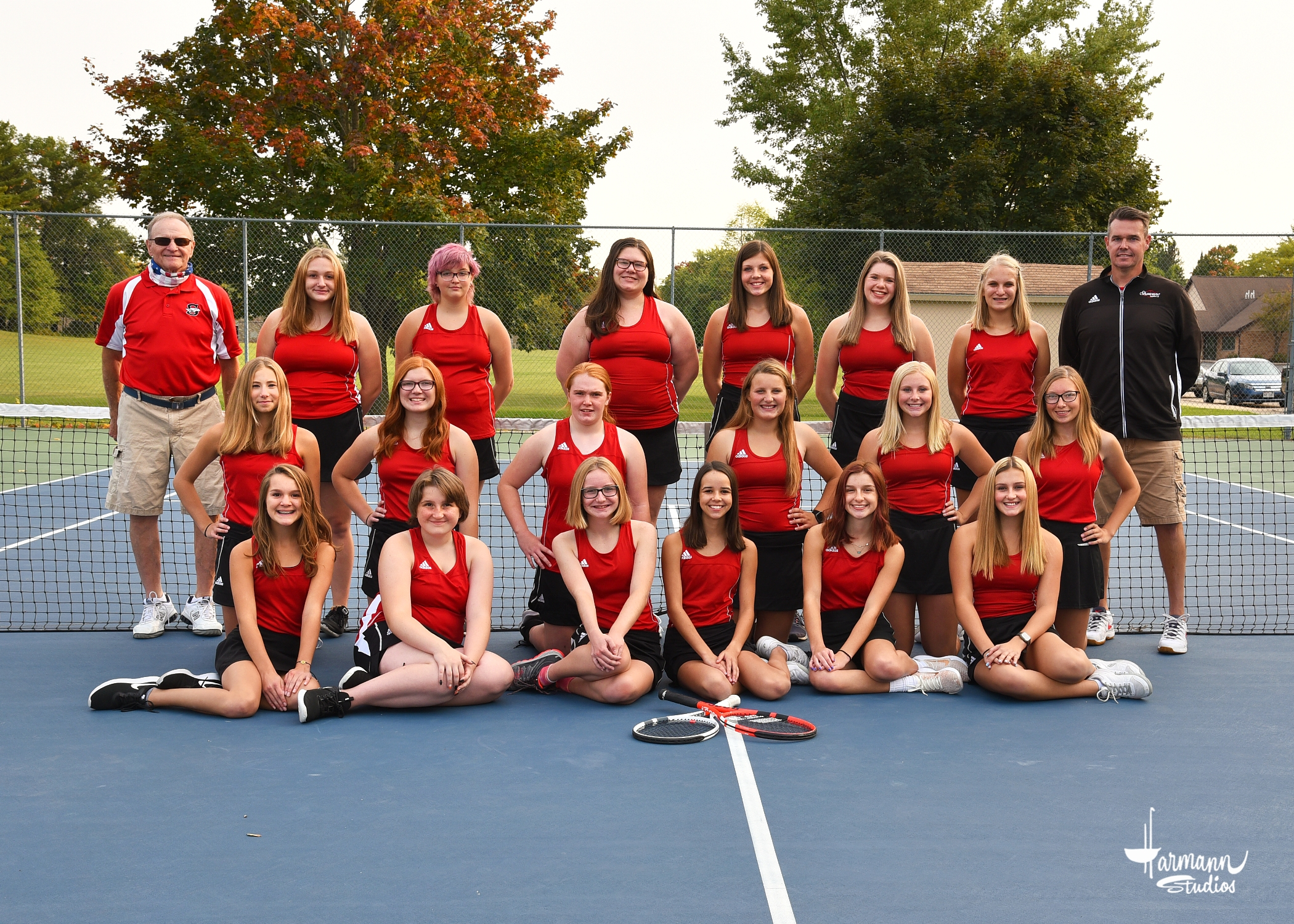 2020 Girl's Tennis Team (Grades 9-10)