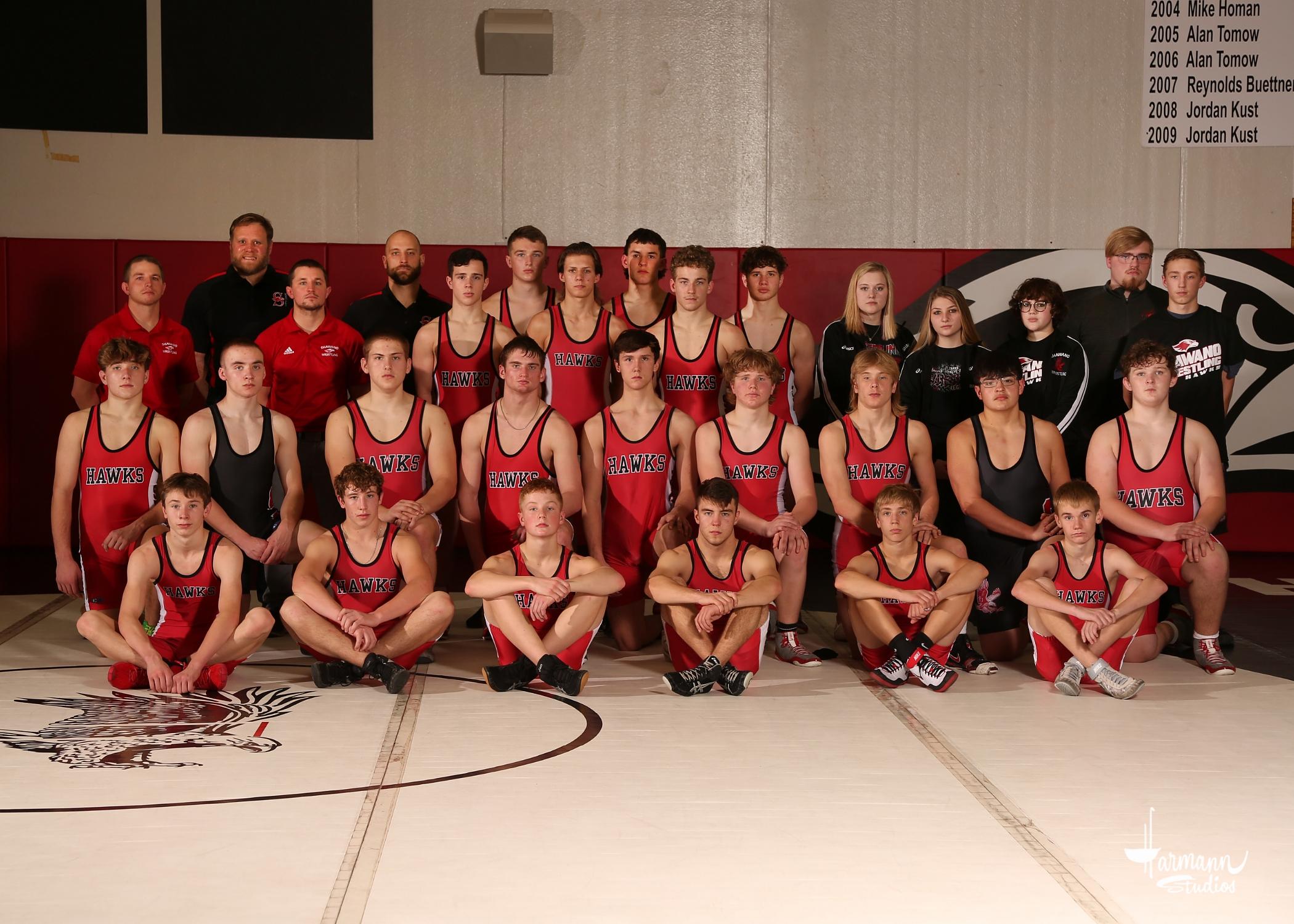 2020-21 Wrestling Team