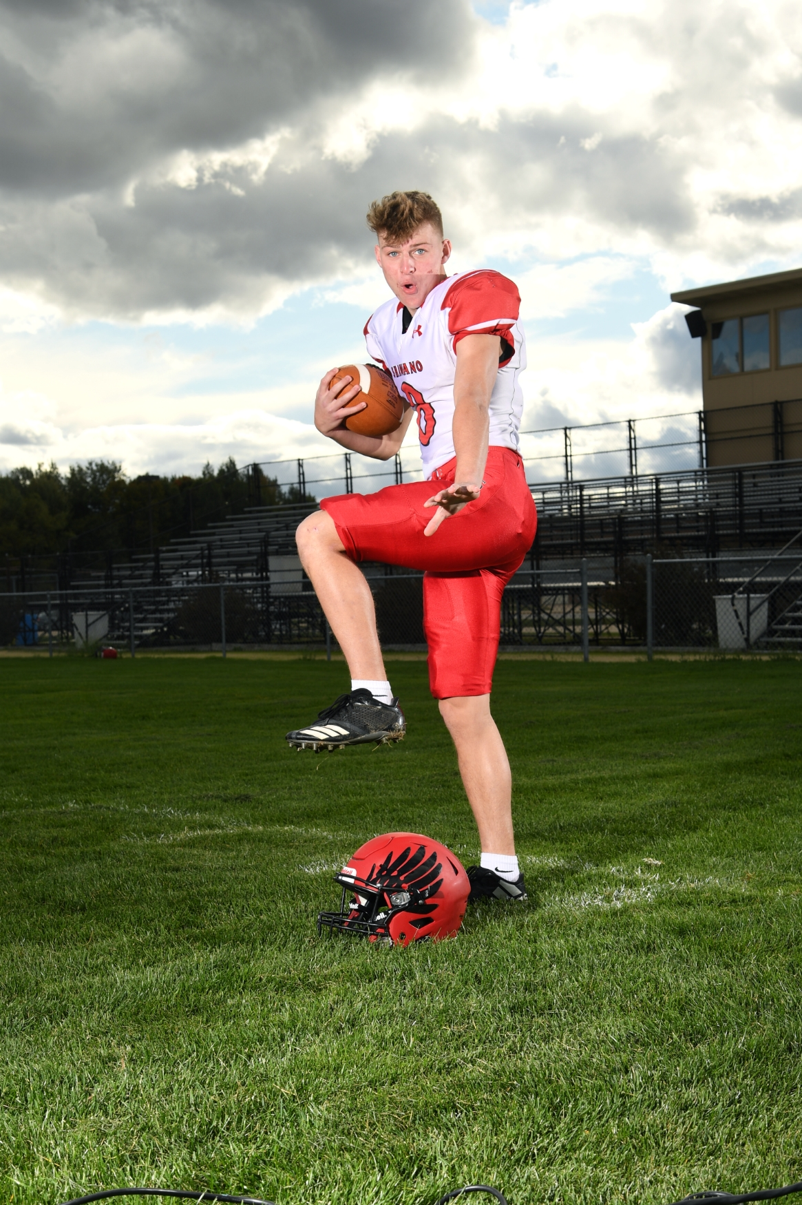 Elliott Lowney - Bay Conference Wide Receiver of the Year