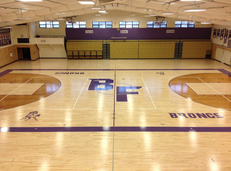 High School Gym Floor