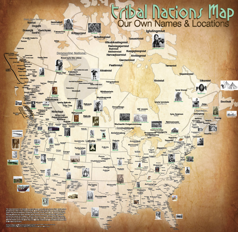 Native American Map