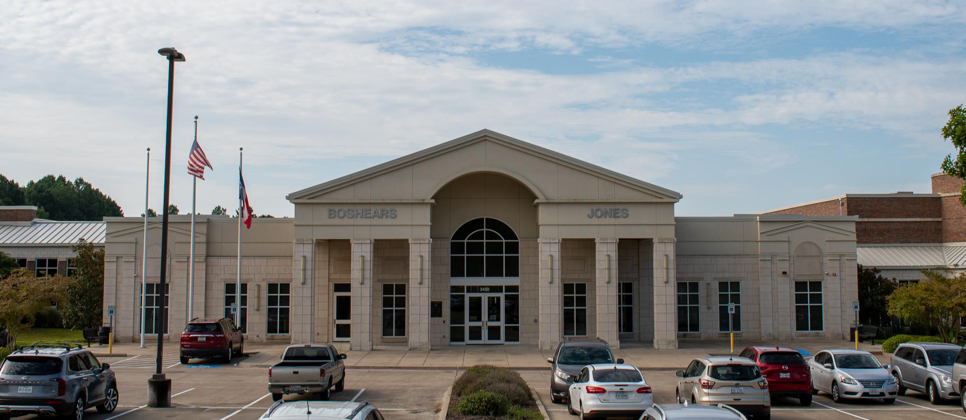Boshears school front