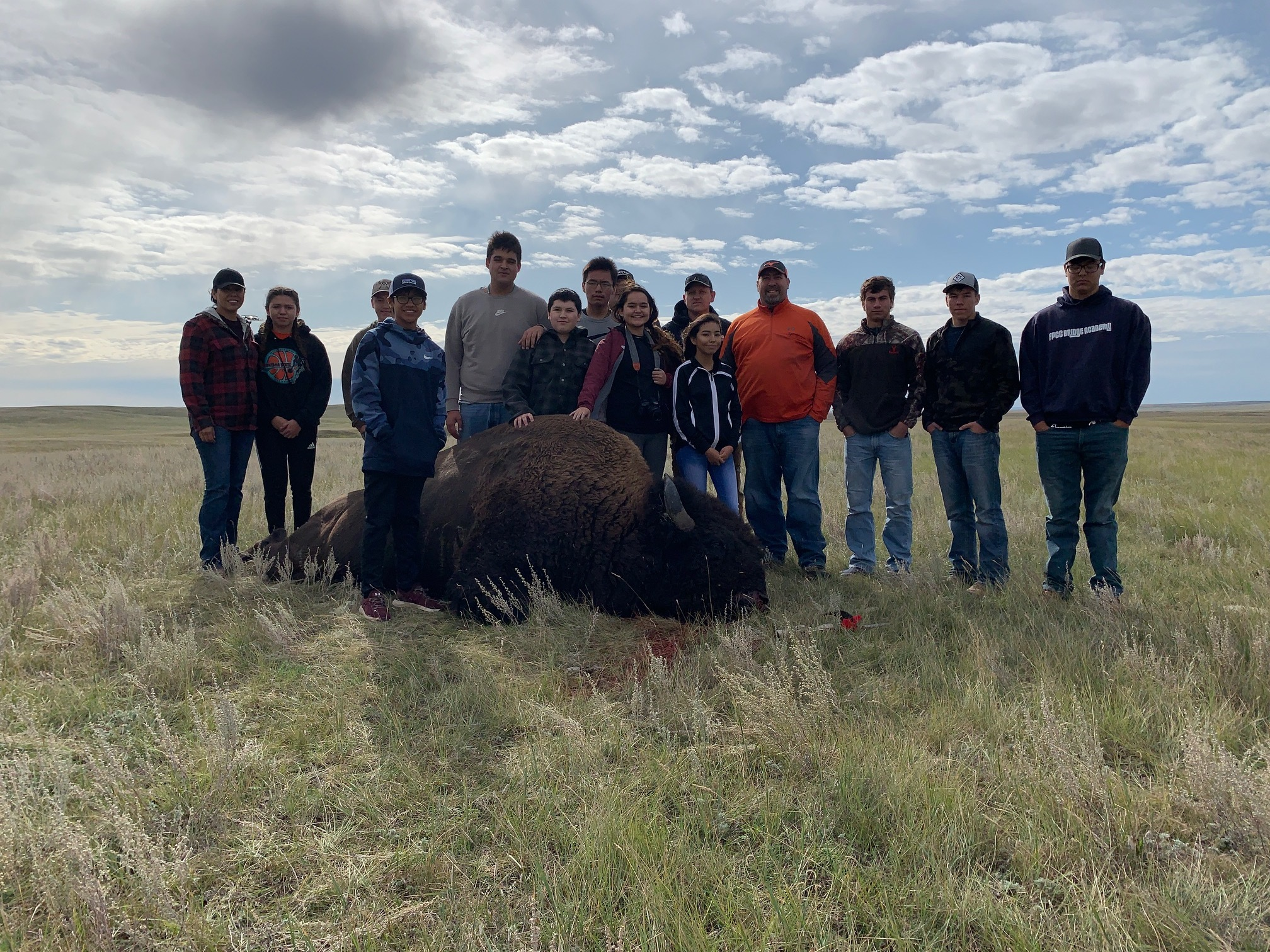 Buffalo Hunt Native American Week