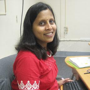A photo of Dr. Geetha.