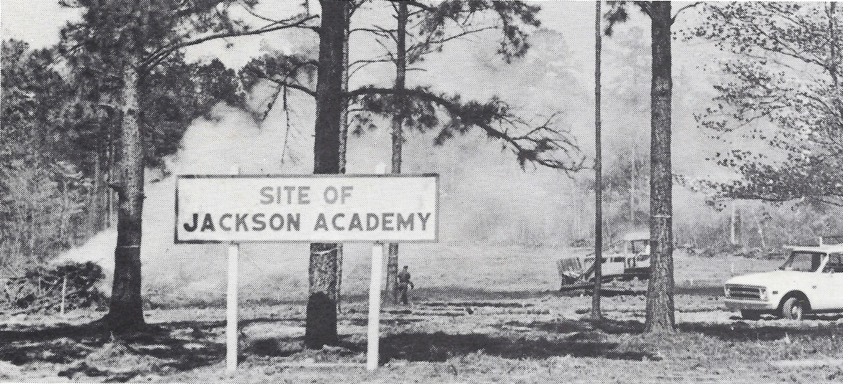 site of jackson academy historical