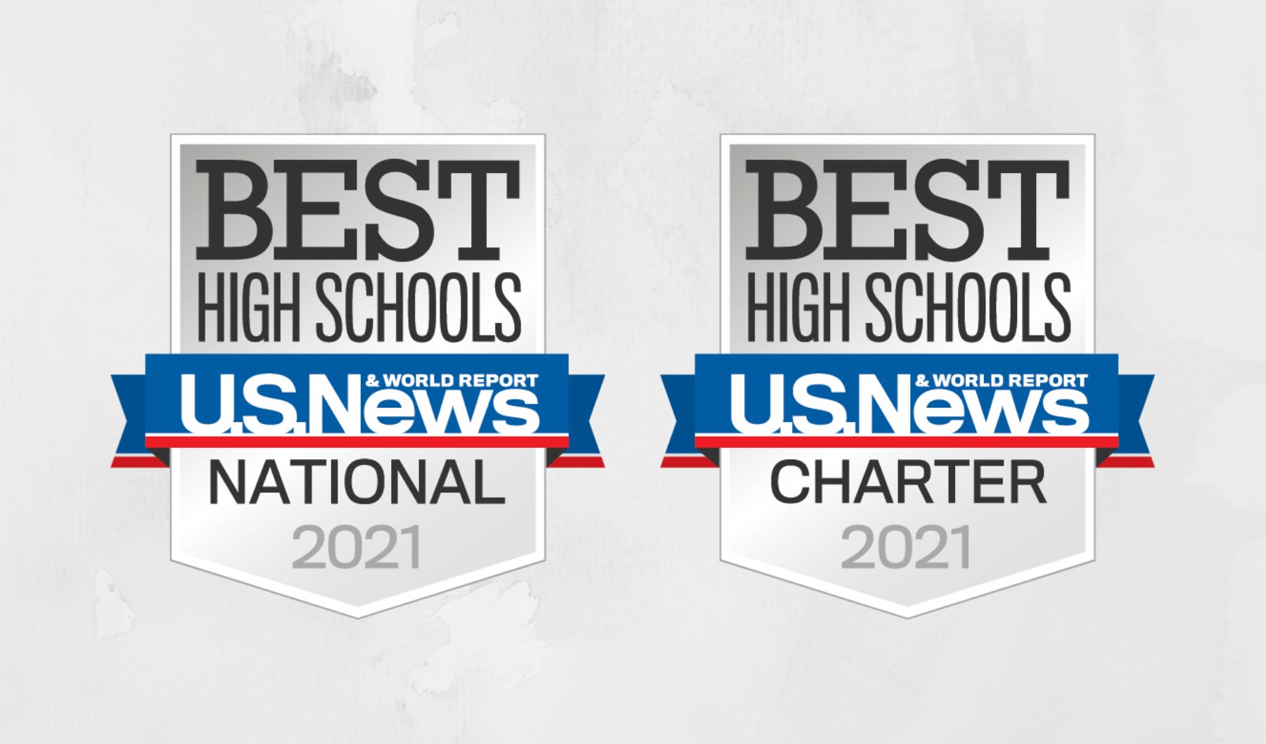 Best High Schools badges