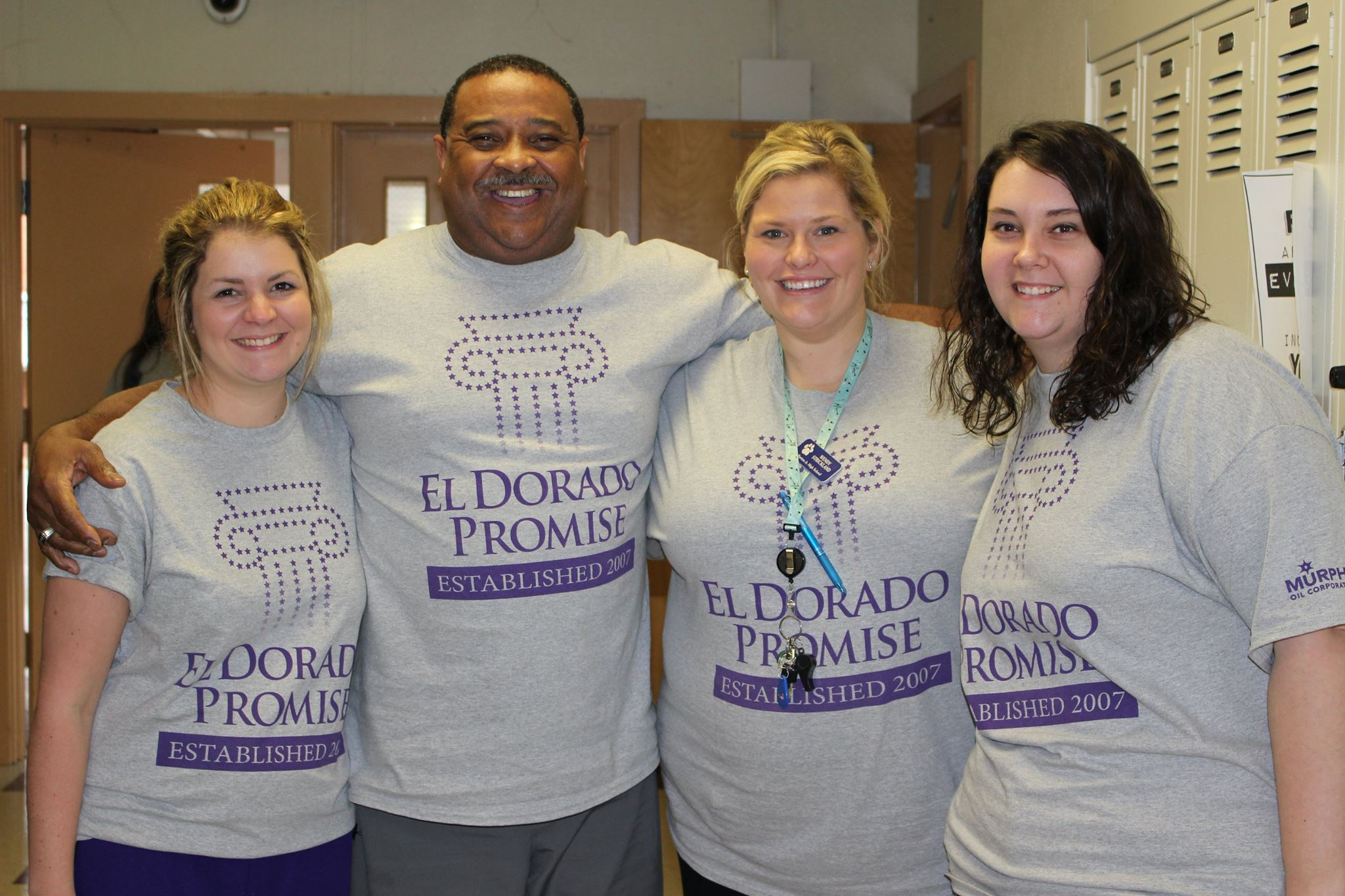 A photo of El Dorado Promise staff.