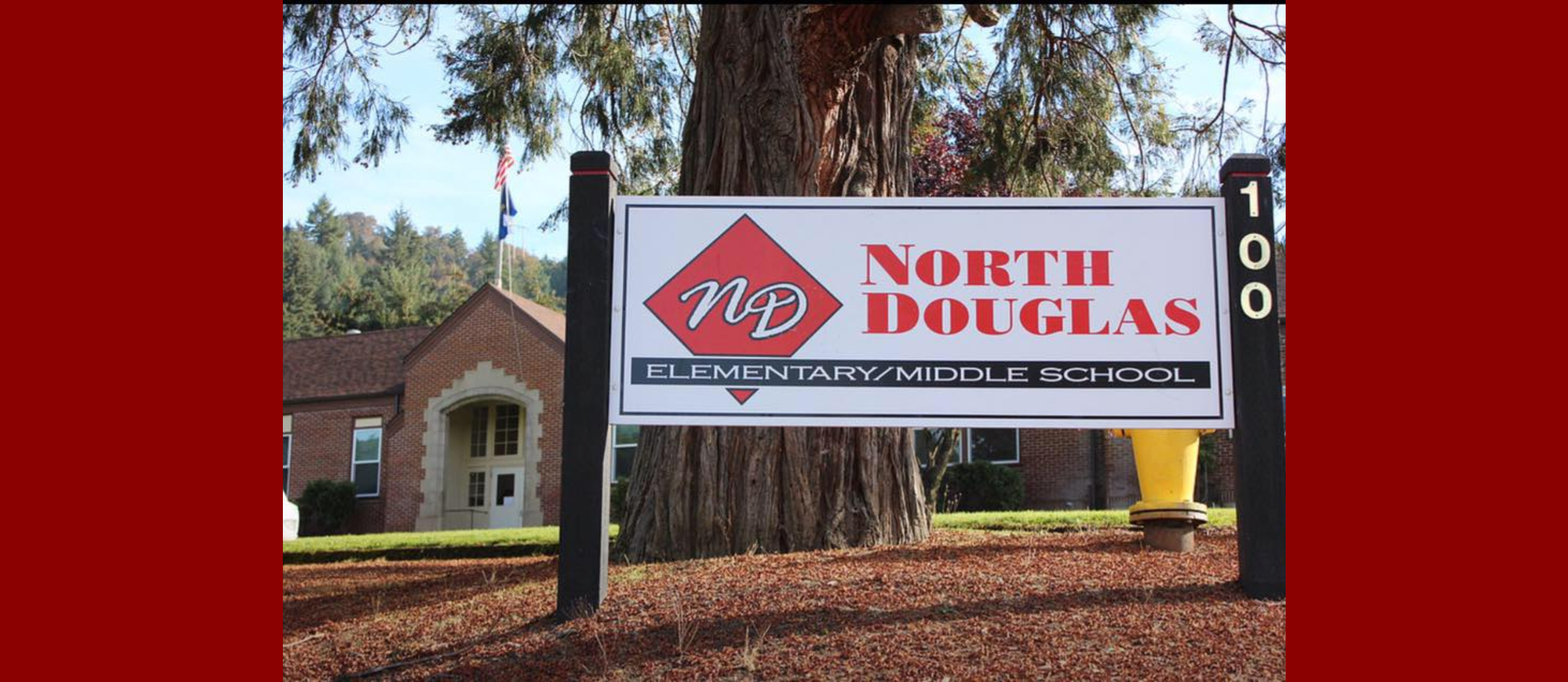 North Douglas Elementary/Middle School sign