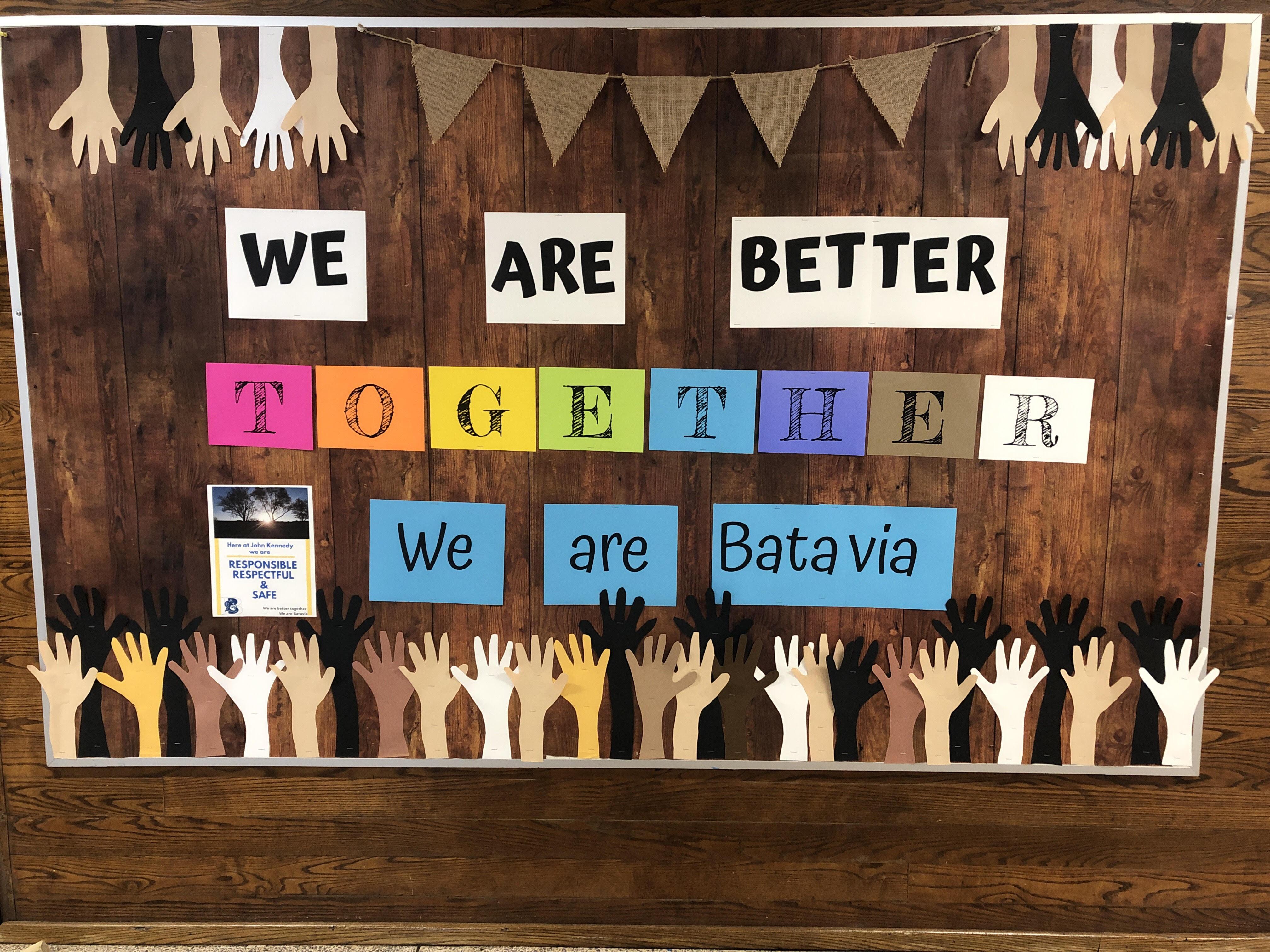 Better together Bulletin Board