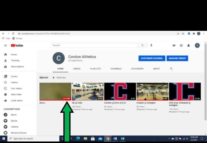 YouTube step 3