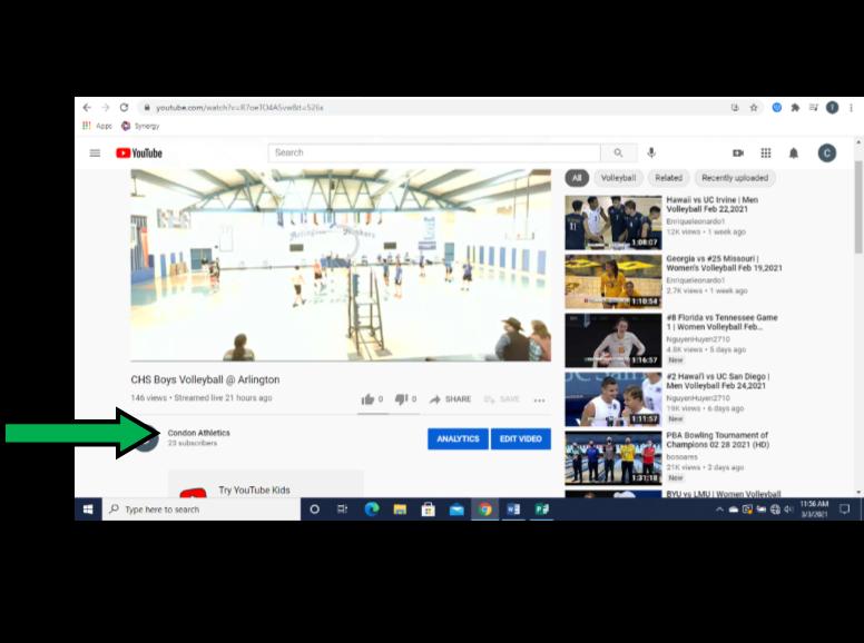 YouTube step 5