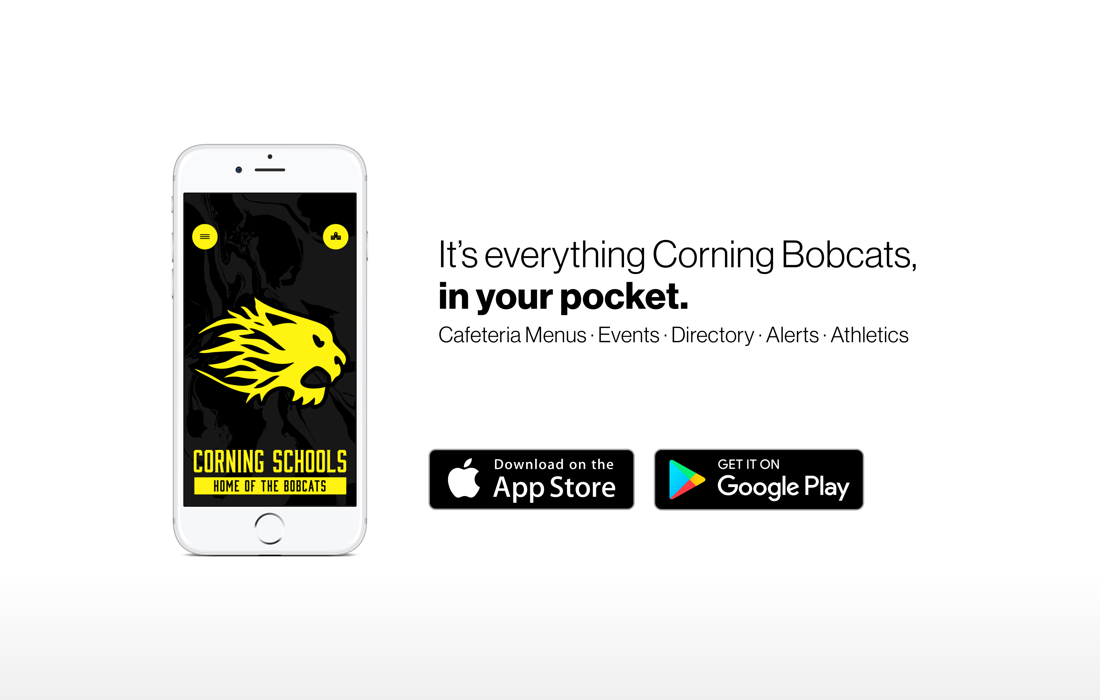 It's everything Corning Bobcats in your pocket