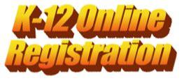 K12 Online  Registration