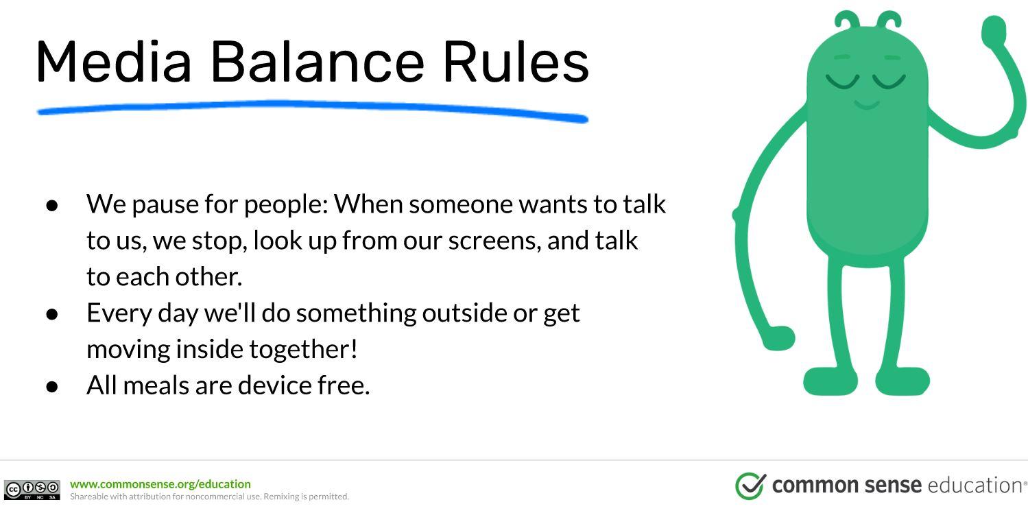 Media Balance Rules