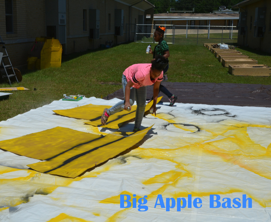 A photo of the BIG APPLE BASH event.