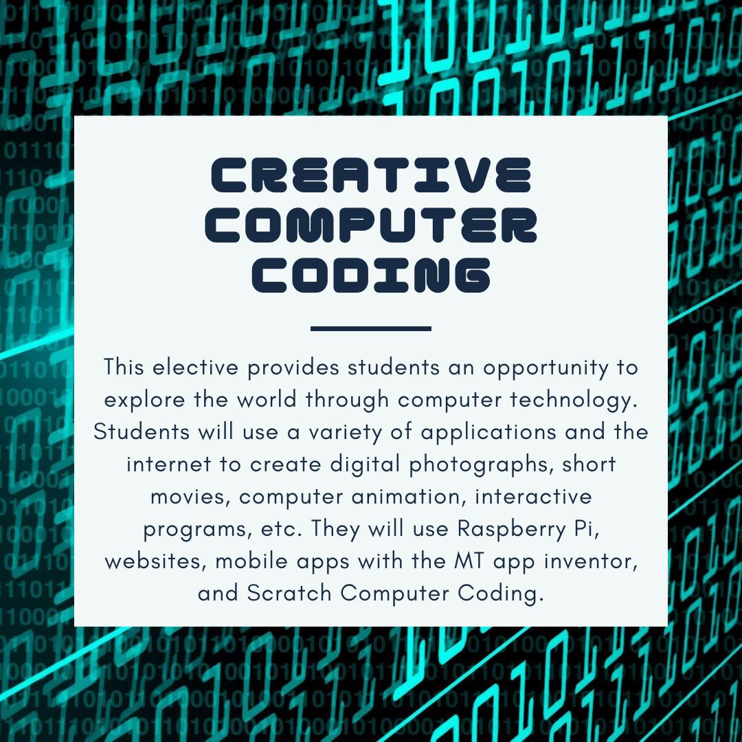 Creative Computer Coding