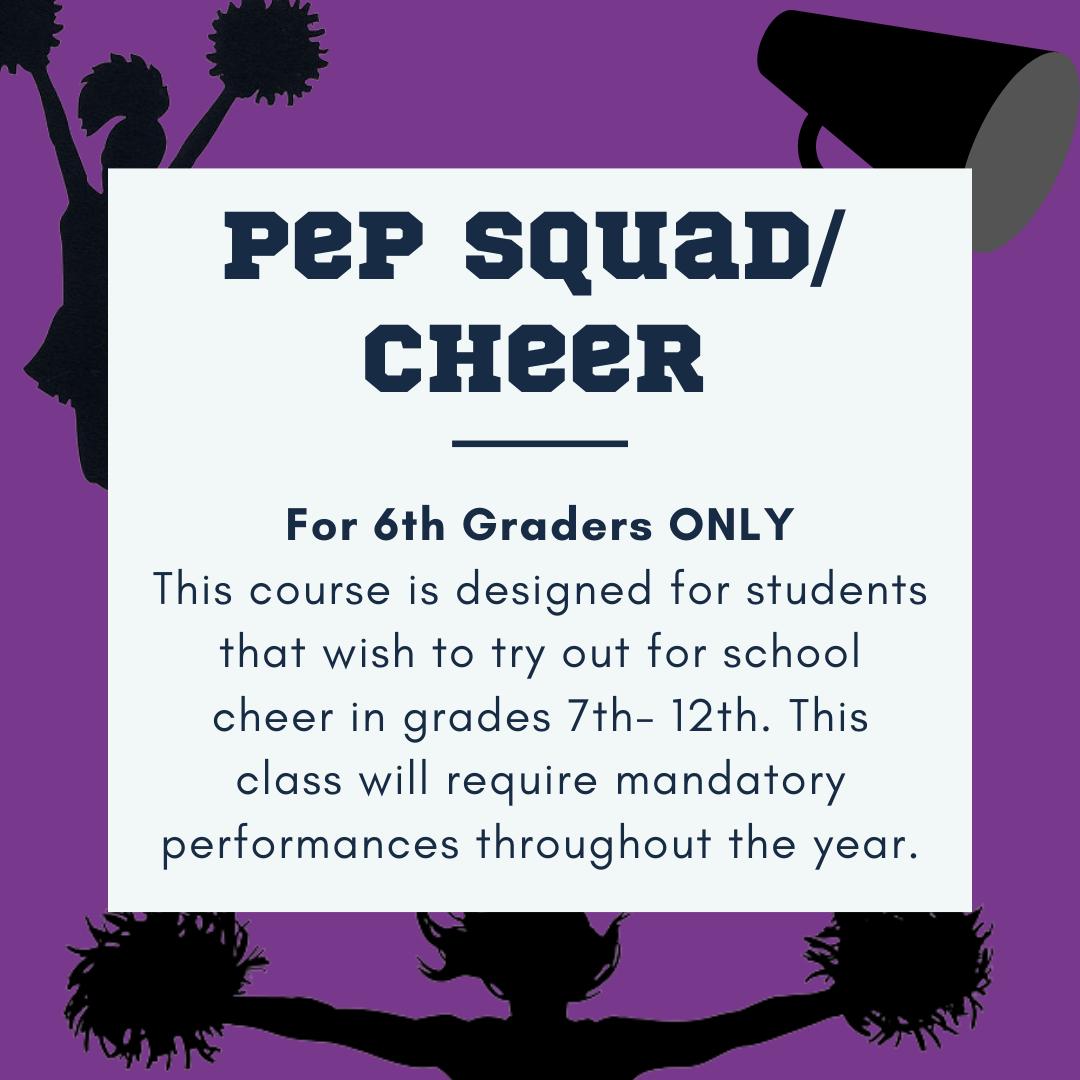 Pep/ Cheer Squad