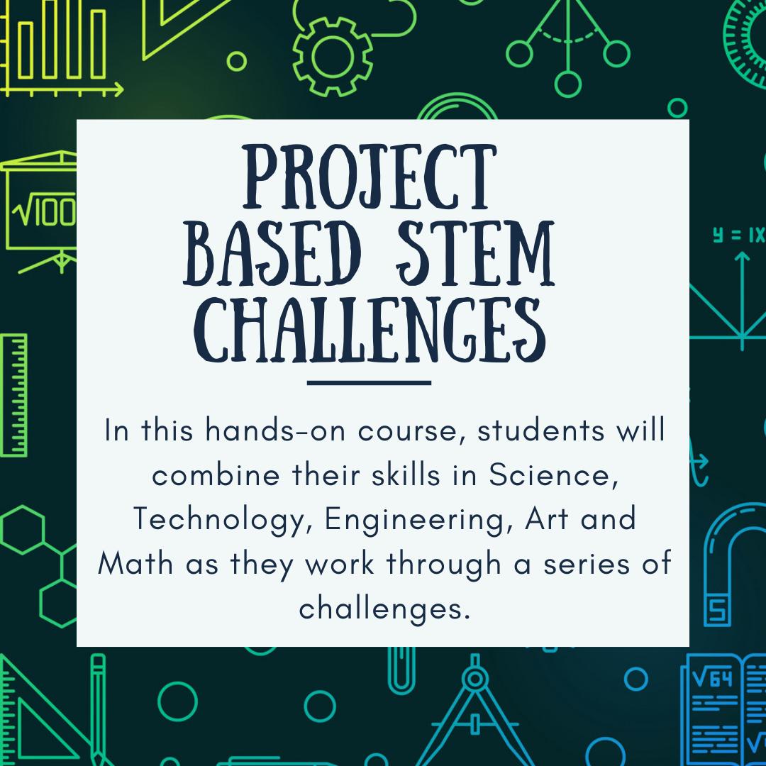 Project Based STEM Challenge