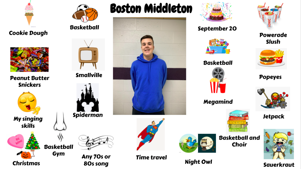 Jr. High Student Boston Middleton