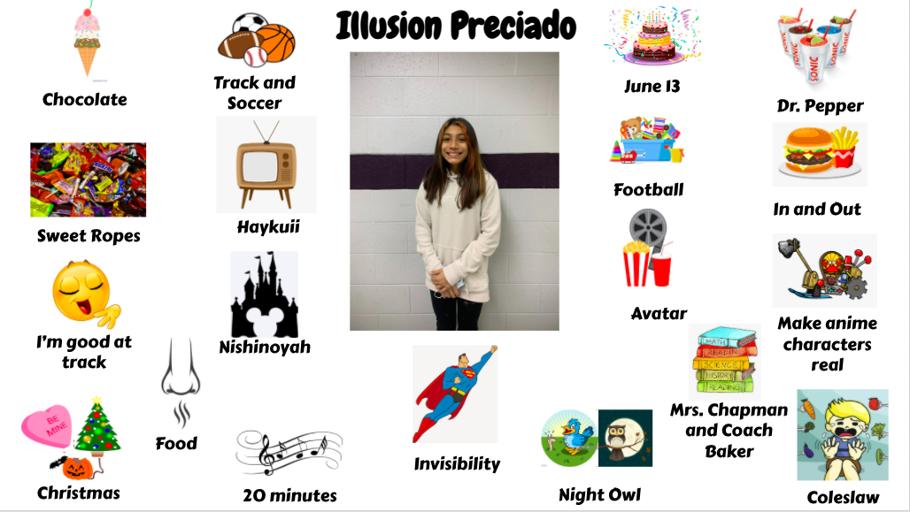 Jr. High Student Illusion Preciado